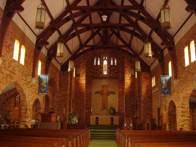 St. Alban's Cathedral, Griffith, NSW, in the Diocese of Riverina. (John Armagh)