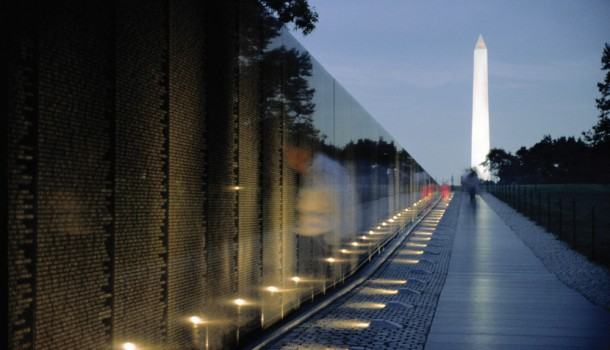 Vietnam Memorial Wall, Washington, D.C. (Michael Kleinberg)