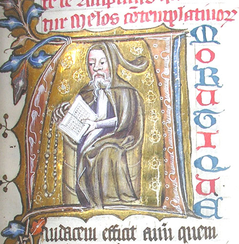 Richard Rolle left his studies at Oxford at age 18 to take up the ascetic life as a hermit, out of which grew a ministry of prayer, writing and spiritual direction. He described three kinds of mystical experiences he had had: a physical warmth in his body; an awareness of God's great sweetness; and a heavenly music that he heard as he chanted the psalms. (St. John's College, Cambridge)
