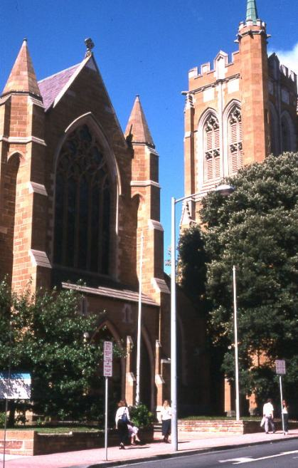 St. David's Cathedral, Hobart, Tasmania, consecrated in 1874. (Wikipedia)