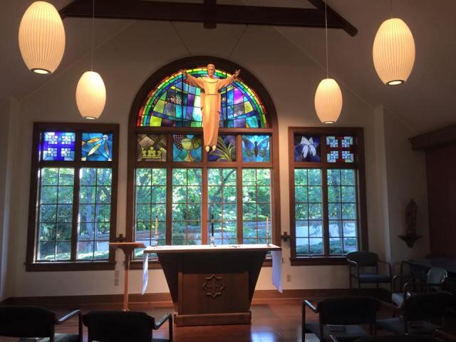 Transfiguration Spirituality Center, Glendale, Ohio (Sumer Bingham)