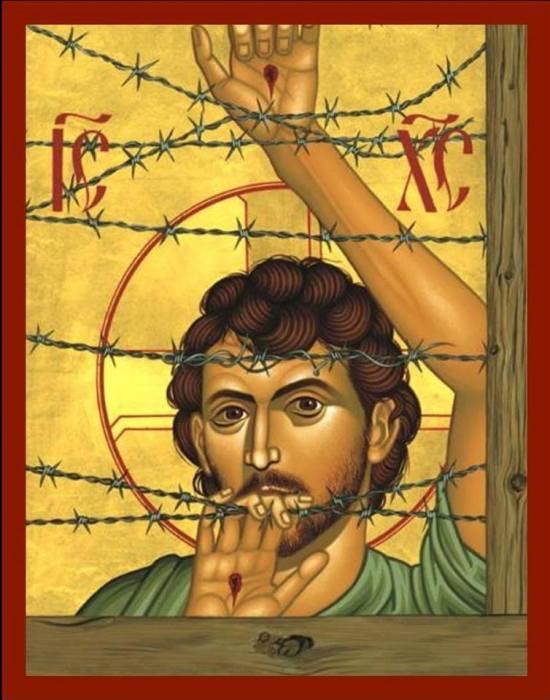 Jesus the Refugee; iconographer unknown.