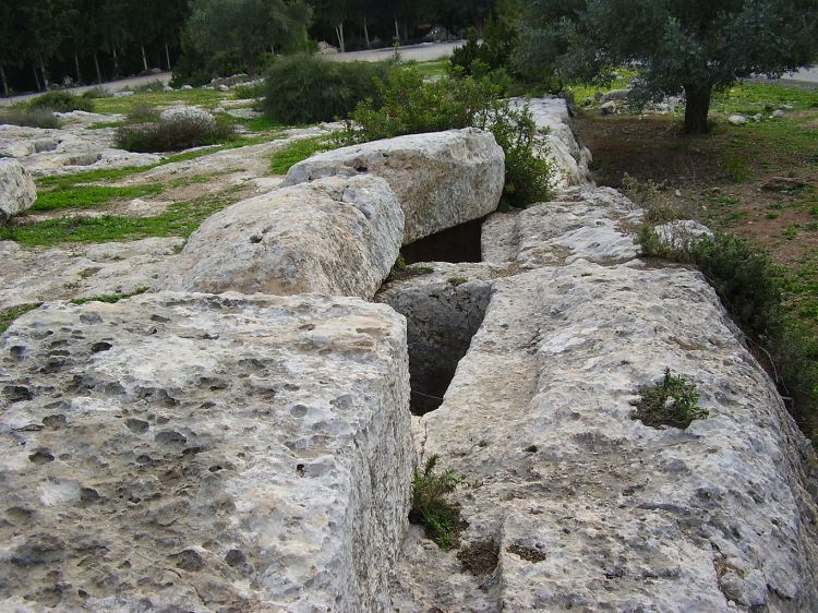 Tombs of the Maccabean freedom fighters in Modein, Israel. Their exploits, and the miracle of the oil which burned for eight days in the lampstand (though there was only enough for one day), form the basis for the Jewish feast of Hannukah. (Wikipedia)