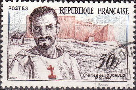 Foucauld was fascinated by the desert, which he first experienced as a French Army officer in North Africa. Back home, he had a conversion experience, became a Cistercian, moved to the Middle East and finally to southern Algeria, where he befriended the nomadic Tuareg Berbers and built a retreat. Bedouins captured him and intended to hold him for ransom, but a young Bedouin panicked and shot him to death. His memory inspired followers to form the Little Brothers and Little Sisters of Jesus, eventually numbering 19 monasteries. In 1936 he was portrayed in a French film, The Call of Silence; he was beatified in 2005.