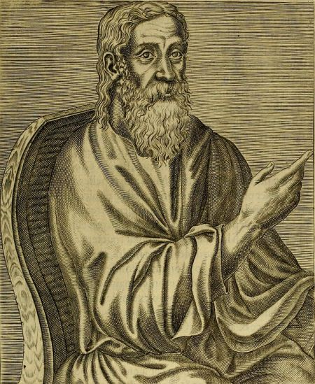 In oppposing the Gnostic heresy, Clement was arguing for something important: the idea that God saves us in the world, not from the world. Our God is knowable, he said, not removed and uninvolved. In fact, he said, what God offers us is intimacy - but most of us are too resistant to accept the gift. (Andre Thevet, 1584)