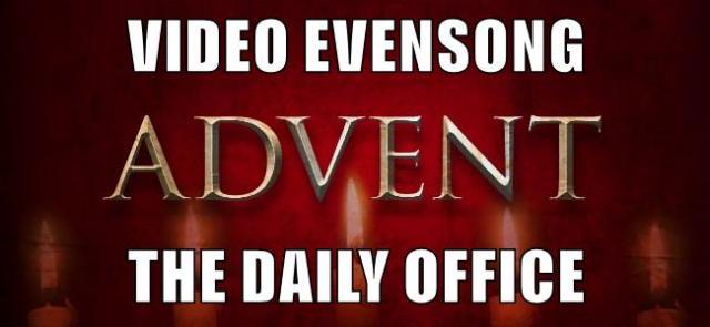 Video Evensong.Advent.Generic