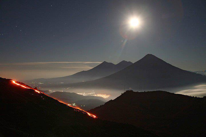 For the beauty of the Earth: Volcano of Fire, Guatemala