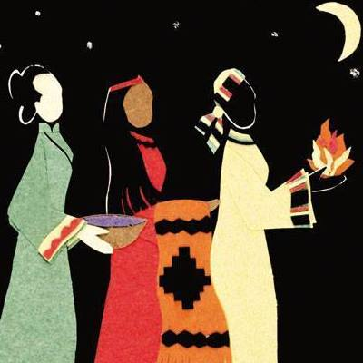 We're always ready to hear about the wise men this time of year, but what the women of Epiphany bring? Things Mary and Joseph could actually use, like fire, blankets and food. (Found on Facebook)