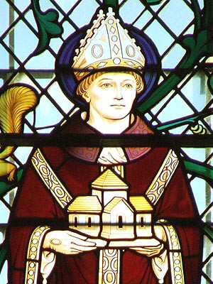 The Abbot Wolfstan became Bishop of Worcester four years prior to William the Conqueror's invasion of England, and overcame the new king's disdain when he professed obedience on canonical grounds to the new Archbishop of Canterbury Lanfranc. So Wulfstan kept his see, lived another 30 years and presided over the transition from an Anglo-Saxon church to an Anglo-French one.