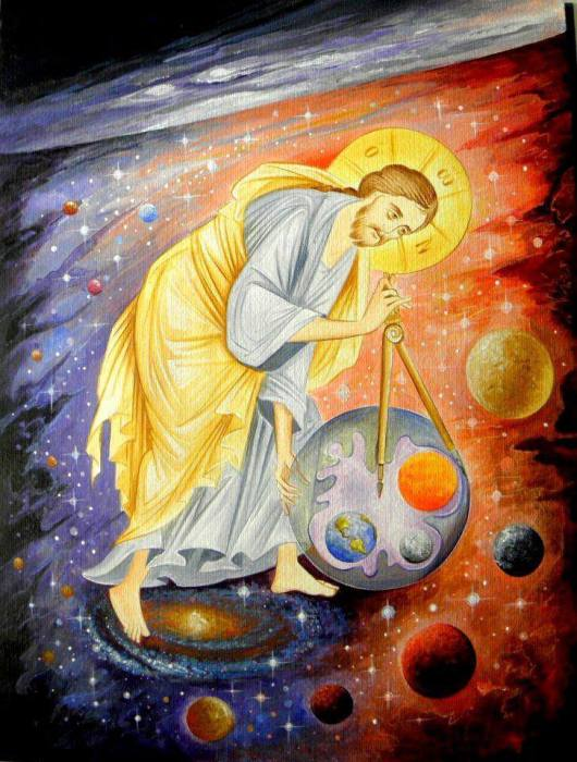 For the beauty of the Earth: Christ and the Solar System. (Coptic Orthodox Church Fathers on Facebook)