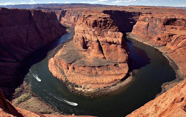 For joy in God's creation: Colorado River at Horseshoe Bend, Arizona. (Matt York/Associated Press)