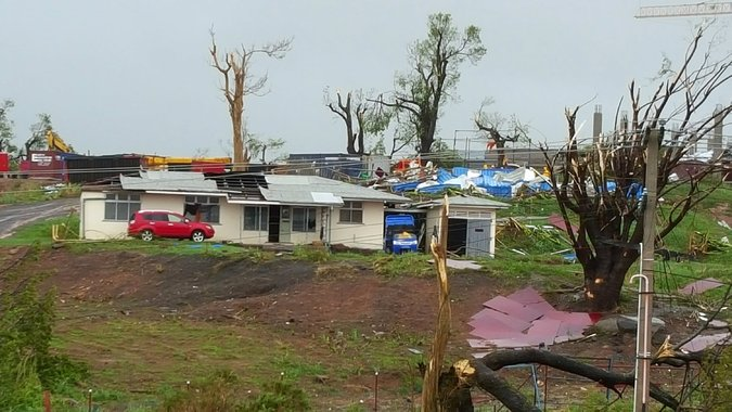 Cyclone Winston, a Category 5 storm, devastated Fiji over the weekend and caused more damage in Tonga, including loss of life. (Reuters)