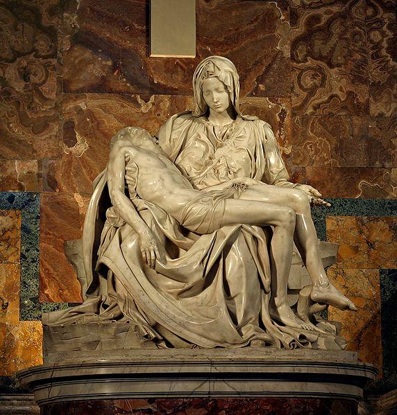 Michelangelo, 1499: Pietà
