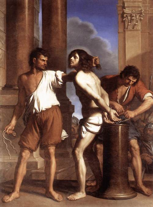 Guercino, 1656: Flagellation of Christ