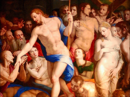 Bronzino, 1552: Christ's Descent into Hell