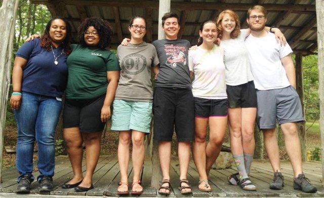 Episcopal Service Corps interns at Chapel Hill, North Carolina. (ESC photo)