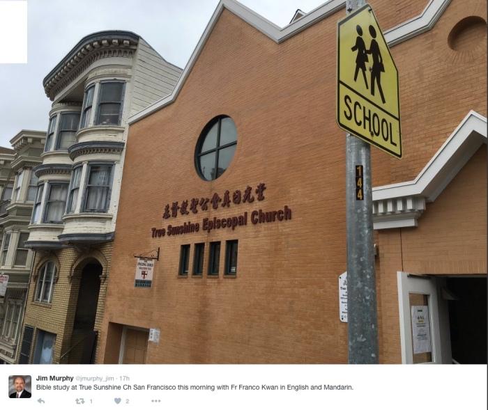 True Sunshine Church, San Francisco, California, 2016. (Episcopal Church Foundation)