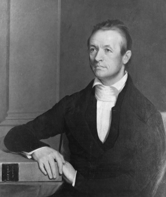 Adoniram Judson in 1846. He and his wife Ann landed first in Calcutta, but found that neither the Indians nor the British wanted him to proselytize among the Hindus. So they moved on to Burma, where the dominant religion is Buddhism, and avoided overt evangelizing for the most part while he worked on his language studies and she made friends with the high-born and low in the marketplace and developed her own linguistic and social fluency. He did eventually make 18 converts after a dozen years. Then war broke out between Britain and Burma, Judson was imprisoned and tortured for over a year before finally being released. Burma ceded some territory, the area was opened to Christian missionaries, and Judson's work began to thrive - among the animists, not the Buddhists. However, his wife Ann died after all the hardships, separation and privation, and his own health was damaged. He developed a lung disease, was advised to take a sea voyage as a cure and died aboard ship at 61. (George Peter Alexander Healy)