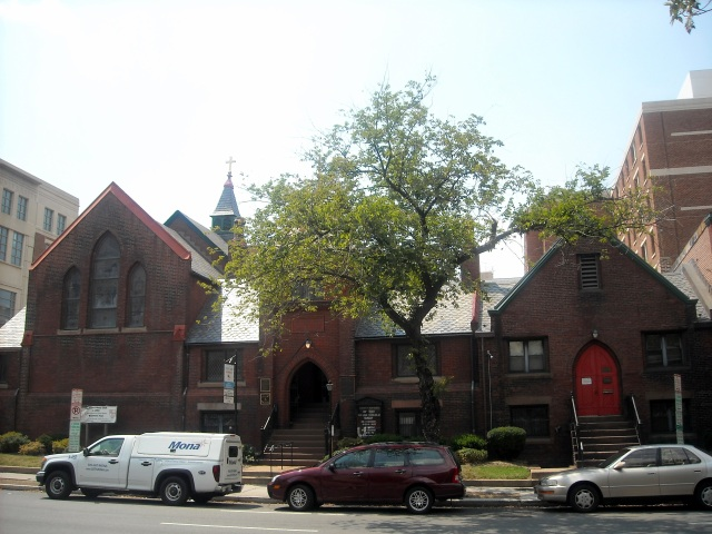 St. Mary's, Washington, D.C., is the city's oldest Black Episcopal congregation, since 1867. It was a mission of St. John's, Lafayette Square, across from the White House, and early in its history the priest was the Rev. Alexander Crummell (feast day 10 September), but he and several parishioners left shortly afterward to found St. Luke's as an independent, Black-owned parish. St. Mary's finally became independent in the 1920s. (Wikipedia)
