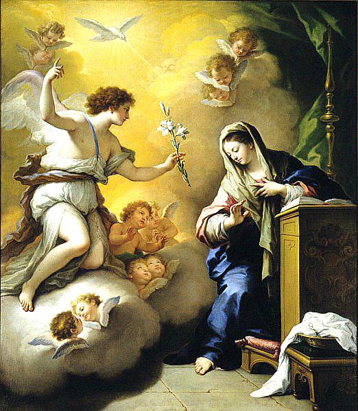 Paolo de Matteis: Annunciation