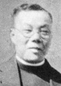 A deaconess in Hawai'i got to young Gee Ching Wu when she asked him to teach her Chinese in exchange for English lessons. Though hesitant at first, he became a Christian, took the name of Daniel and eventually followed her to California, where she established missions among Chinese immigrants in San Francisco and Oakland. He managed those two sites while also studying at the Church Divinity School of the Pacific in nearby Berkeley, was ordained in 1912 and became Vicar of both congregations. He used to prowl the docks and points of entry looking for Chinese just off the boat, whom he helped integrate into the community. So they could maintain their cultural heritage while adapting to their new land, he taught Chinese to the children and English to the parents; his ministry of 36 years established the Episcopal Church's ministry to Chinese Americans. (source unknown)