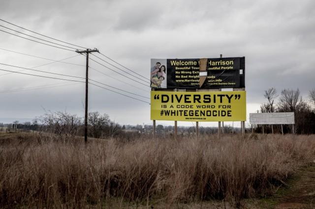 Harrison, Arkansas, February 2016, before the Republican primary. (Andrea Morales/Washington Post)