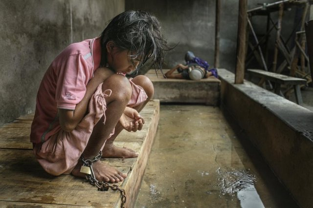 People with mental illness in Indonesia are often kept chained up in a concrete room added onto the family home, according to Human Rights Watch, which is conducting a campaign to get them better care called #BreakTheChains. Indonesia has high rates of literacy and education, but this is shameful. (HRW)