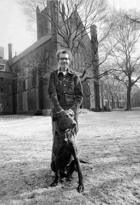 Dr. Pauli Murray, the first African-American woman ordained a priest in The Episcopal Church in 1977, will have a building named for her at Yale University. She was a civil rights activist, lawyer and polymath who faced discrimination at key points throughout her career; the University of North Carolina would not admit her due to her race, and later Harvard Law School wouldn't admit her for doctoral work because of her gender, though she graduated #1 in her class at Howard University School of Law. (Yale Law admitted her instead.) She said she never won any of her protests, but she lived to see the academic barriers fall. However, even Yale's new honour comes with an asterisk; the school has refused to remove the name of John C. Calhoun, a former vice-president of the USA, slaveowner and author of the purported legal justification for the Southern states' secession in order to maintain slavery. Mother Pauli would probably have choice words to say about that. Above: at the General Theological Seminary in New York in 1974, where our Vicar made her acquaintance. (Barton Silverman/The New York Times)