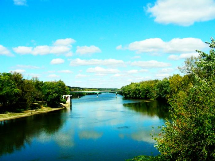 For the beauty of the Earth: Wabash River at West Lafayette, Indiana. (Quinn Thomson)