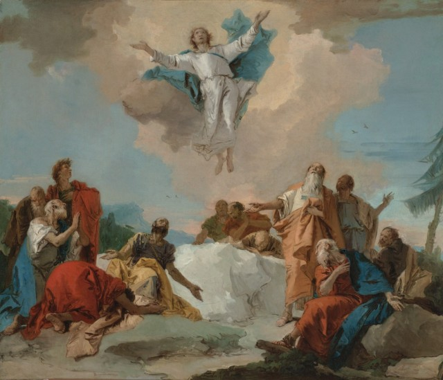 Giovanni Batista Tiepolo: Ascension