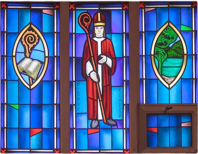 """David Jackson Kemper was a New Yorker when he answered the call to mission work in the Old Northwest, as the region by the Great Lakes was called. Well-to-do Eastern priests didn't like the weather, wilderness and harsh conditions, but Kemper thrived there, founding my home parish and my diocese, along with hundreds of other churches and schools. He even found time to head up missions to the South and Southwest, and urged the Church to take up """"Indian work."""" The American Church we know today is in large part his creation."""
