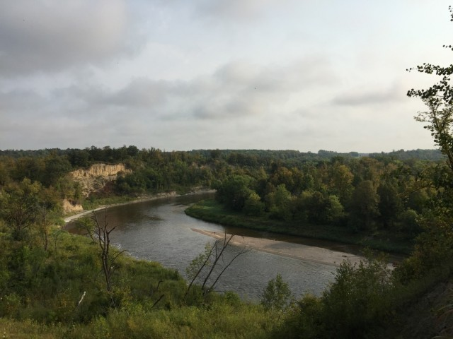 Red Lake Falls, Minnesota: Glorify the Lord, O springs of water, seas, and streams. (Christopher Ingraham/Washington Post)