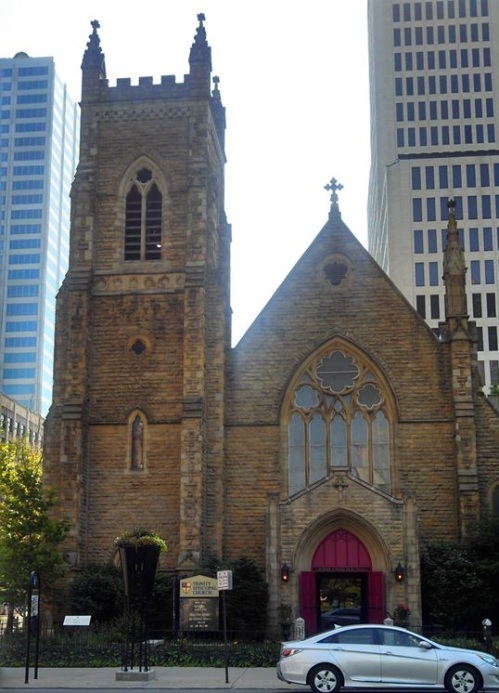 Trinity Church, Columbus, Ohio, on Capitol Square. (The Rev. Tom Fehr)