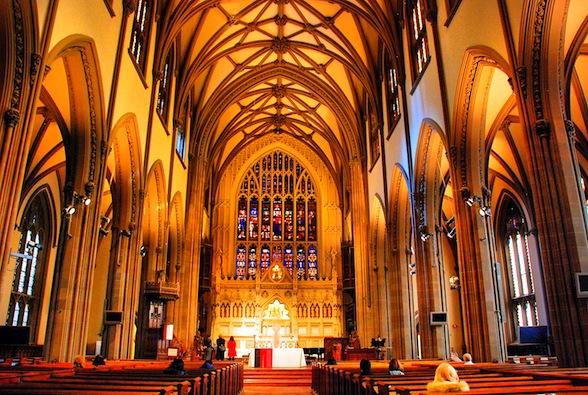 Trinity Church, Wall Street, New York
