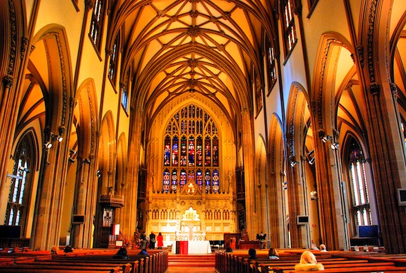 Trinity Church, Wall Street, New York