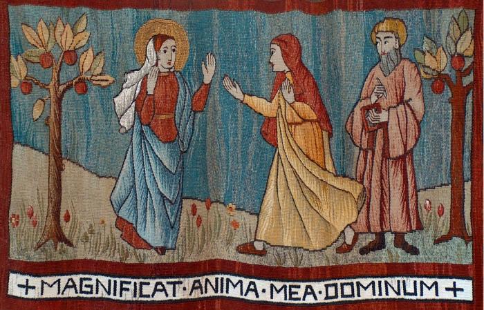 Sr. Edith, OSB: Visitation Tapestry