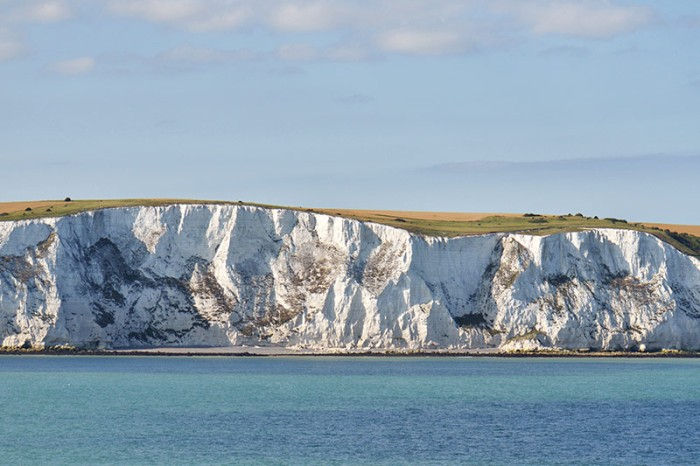 Augustine and his party probably saw the white cliffs of Dover as they crossed the English Channel from France. (Natureflip)