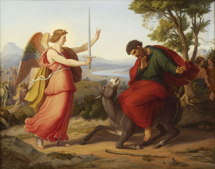Gustav Jaeger, 1836: Balaam, the Angel and the Donkey