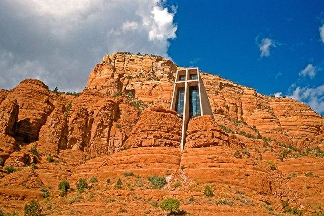 Chapel of the Holy Cross, Sedona, Arizona (M&N/Alamy)