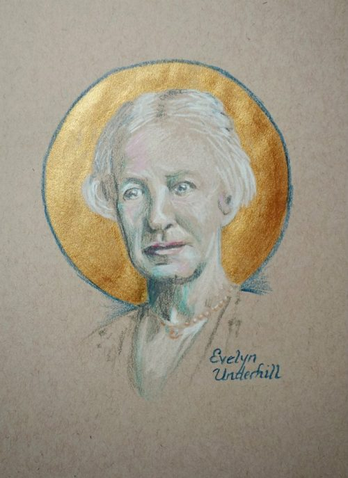 Evelyn Underhill had unusual experiences of peace from an early age, and spent her life trying to understand them. She came to Christianity in a roundabout way, moving from being agnostic to neo-Platonism, then finding herself drawn to catholicism. A spiritual director nudged her from intellectual theism to a more Christocentric point of view, and she came to view all of life as sacred, including the mundane and ordinary; that's where incarnation is located. For 30 years she was the bestselling author on these subjects. (The Rev. Tobias S. Haller)