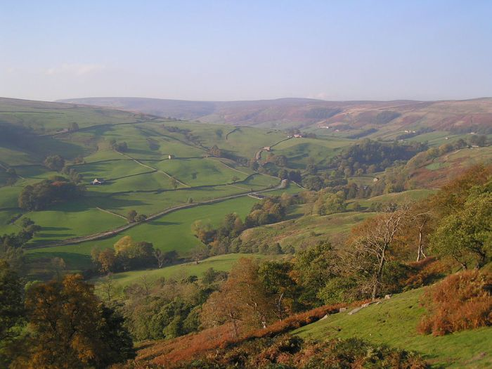 For joy in God's creation: Nidderdale, Yorkshire (Wikipedia)