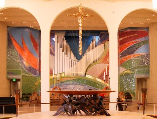 Altar at St. Barnabas on the Desert, Scottsdale, Arizona. (parish website)