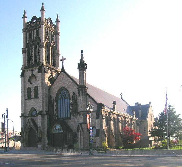 St. John's, Detroit, Michigan. (Andrew Jameson)