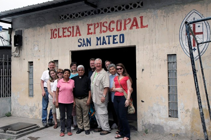 A deadly 7.8 earthquake hit the region around Guayaquil in the Diocese of Ecuador Litoral in March and the people are still recovering. But St. Matthew's, Guayaquil was able to receive longtime friends from the Diocese of Tennessee last week, renewing relationships that were formed in the late 1990s when the two dioceses were formal companions. Today Ecuador Litoral is linked to the Diocese of Puerto Rico, which sent medical professionals to a pop-up clinic in obstetrics and gynecology, pediatrics, general medicine and psychology for the survivors. Meanwhile the Tennesseans toured parishes and engaged in deep listening to what the people have been through. Ecuador Litoral, like Puerto Rico and other dioceses in Episcopal Province IX, is engaged in longterm efforts to achieve self-sustainability; the Church of Jesus the Lord in Guayaquil is opening an empanada stand to sell its stuffed pastries, hoping to turn it into a full bakery with seed money added by the Americans. (Lynette Wilson/Episcopal News Service)