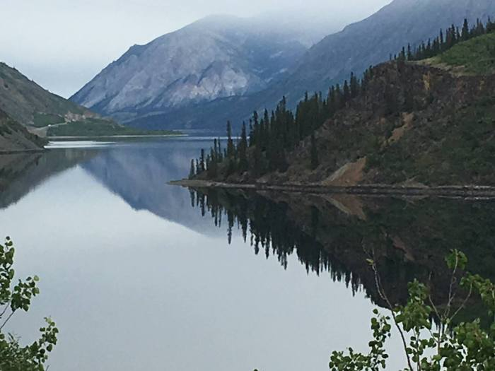 Carcross, Yukon, a few days ago. (Steve Helmreich)