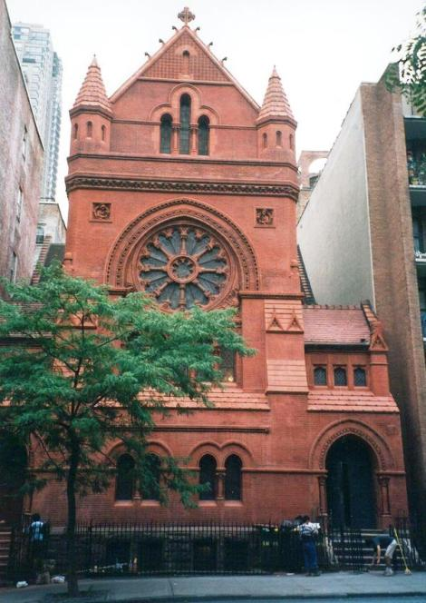 Church for All Nations, a LCMS, church, is a New York landmark, but no longer has its congregation, which continues to meet elsewhere. It was built in 1897 for the Catholic Apostolic Church, an English sect which believed in the imminent coming of Christ. (Leven Baum Associates/behance.net)