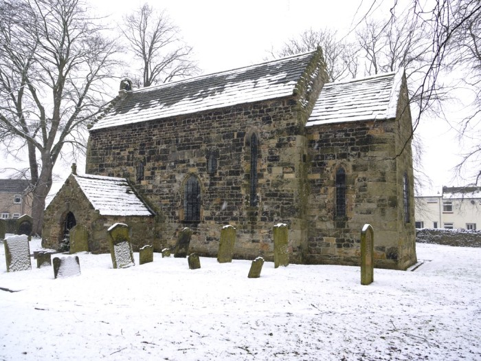 Escomb Church, on the River Wear in County Durham, England, is of Saxon origin and dates from about 670. It remains in weekly use, including a midweek Celtic service. (Andrew Curtis/geograph.org,uk)