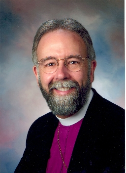 "The Rt. Rev. Gladstone ""Skip"" Adams, retiring Bishop of Central New York, is posed to accept a call as Provisional Bishop of the Episcopal Church in South Carolina, pending an upcoming election. TEC in SC is the loyalist portion of the old Diocese of SC, which was wrecked by schism led by an anti-Gay bishop who promised, if he was confirmed, to stay in TEC, then bolted the minute he could. (CNY diocesan photo)"