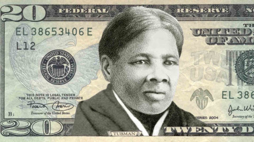Harriet Tubman, a Maryland slave who escaped to freedom, then made repeated trips back to the South to liberate a thousand others, will soon appear on the $20USD bill, replacing a slaveowner and Indian hater who was the 7th President of the United States. (freddyo.com)