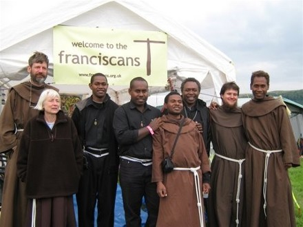 Anglican Franciscans at a British summer festival a few years ago. (anglicanfranciscans.org)